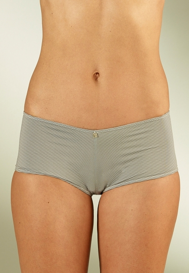 Shorty taille basse - Marron