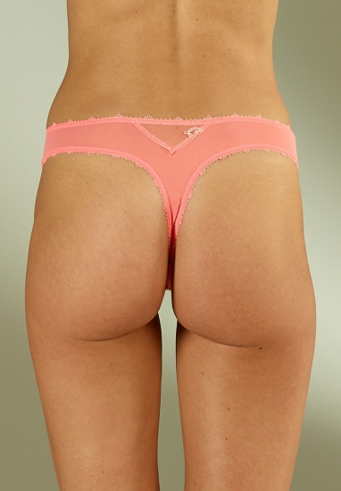 Tanga / string - Rose - Image 2