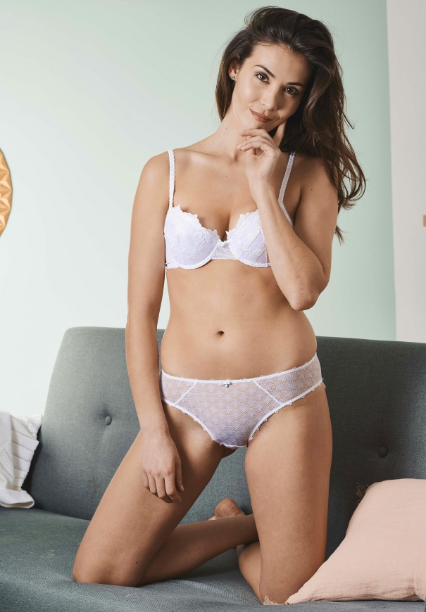 Culotte italienne - Blanc - Image 3