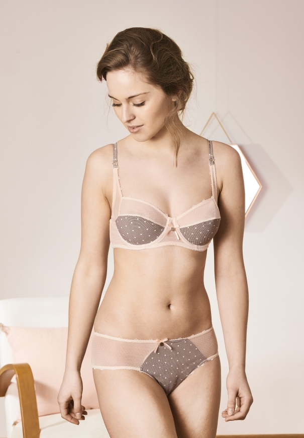 Culotte bresilienne - Rose - Image 2
