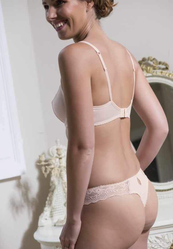 Tanga / string - Rose - Image 3
