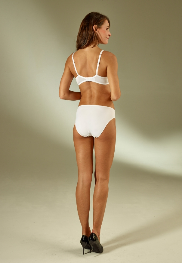 Culotte bresilienne - Blanc - Image 4